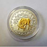 Руанда 1000 франков 2009 Год быка
