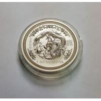 Австралия, 1$, 2000г. Год Дракона