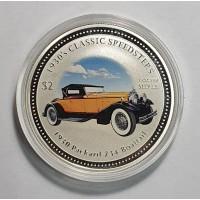 Острова Кука, 2$, 2006г. Машина, унция