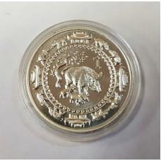 Монголия 500 тугриков, 2007г. год Свиньи, Лунный календарь.