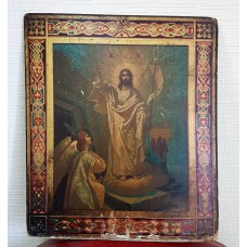 Икона - Воскресение Христово, нач. ХХ века.