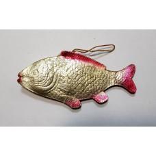 Ёлочная игрушка - Рыба большая, СССР.
