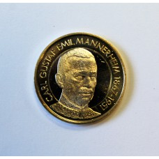 Финляндия, 5 евро, 2017г. Президент №6  Маннергейм