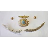 Фурнитура на фуражку Командир самолёта ГВФ Аэрофлот