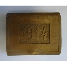 "Портсигар ""1914"", резьба"