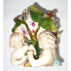 Вазон с двумя ангелочками ( Европа )