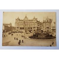 Открытка - Лубянская Площадь, 1927г.