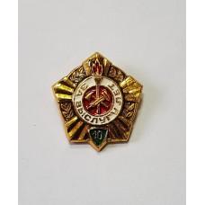 За заслугу 10 лет ВДПО пожарник