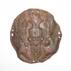 """Бляха """" ПОЧТА """". Россия 1830-40гг."""