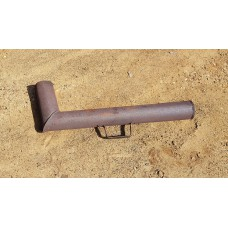 Труба на самовар угольный, железо б/у царизм или довоенная.